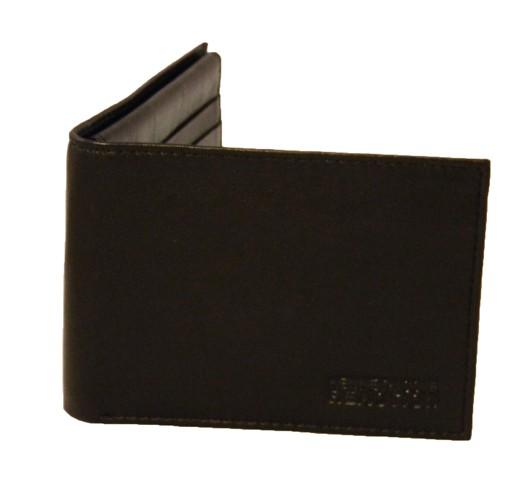 Kenneth Cole Black Bi-Fold Men's Wallet