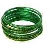 Bangles Green Gold