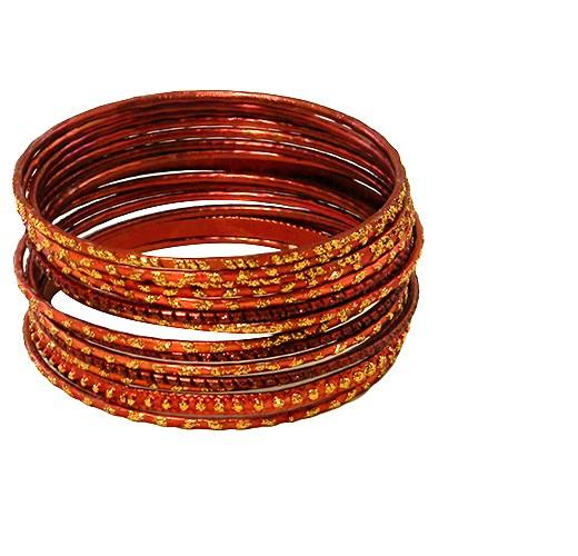 Bangles rust gold