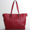 KrisKank Red Crocodile shoulder handbag