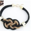 Krisklank twisted rope choker